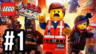 The LEGO Movie Videogame Walkthrough PART 1 Let's Play