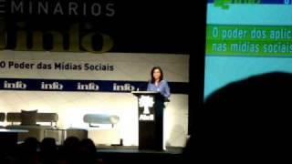 Seminário INFO: Redes Sociais. Aplicativos. Christiane Melcher 1 de 7 view on youtube.com tube online.
