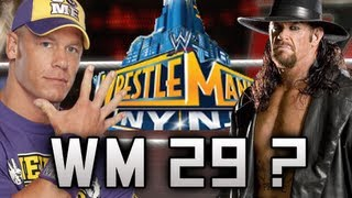 Wrestlemania 29 The Undertaker Vs John Cena
