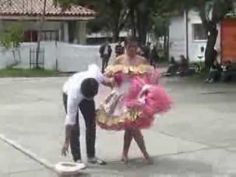 Pareja baile joropo- Diana Ariza y Alexis Valero