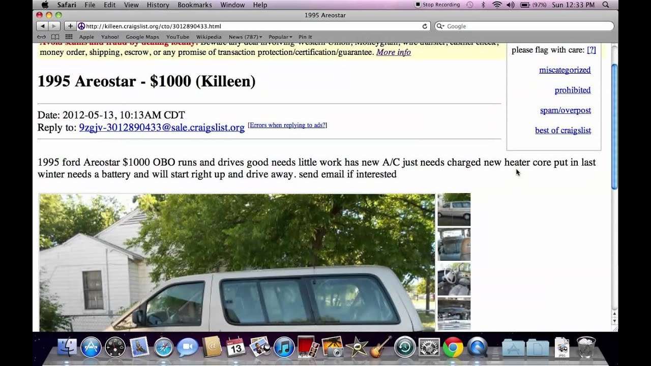 Craigslist Killeen Texas - Used Dodge, Ford and Chevy Trucks Under $ ...