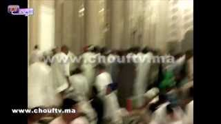 بالفيديو.. الروينة في الصف الأول بمسجد الحسن الثاني  قبيل ختم القرآن أمس   |   بــووز