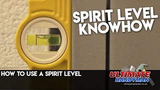 Spirit level tutorial