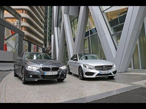 BMW 340i vs Mercedes C450