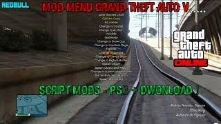 GTA V Online 1.15 Mod Menu PS3 Script Mods