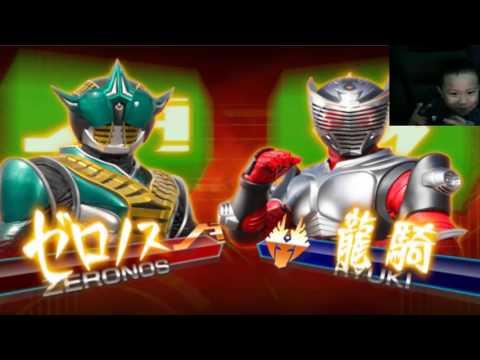 Sieu Nhan Game Play | Minh đầu to chơi game Kamen rider climax heroes | Rider Zenoros