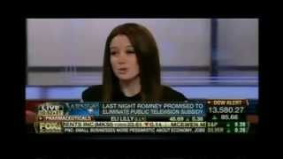 Carol Roth Stuart Varney on Romney Big Bird PBS Funding