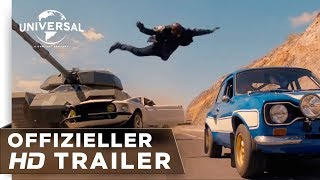 Fast & Furious 6 Trailer Deutsch / German HD