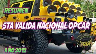 5ta Valida Nacional Sound Car (Copa 18Sound) OPCAR Venezuela