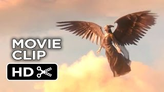 Maleficent Movie CLIP Into The Clouds (2014) Angelina