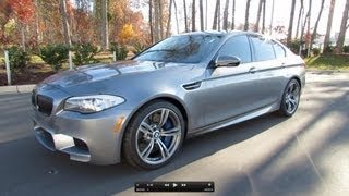 2013 BMW M5 (F10) Start Up, Exhaust, and In Depth Review videos