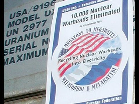 Stewart Brand: Turning Soviet Nukes into US Electricity