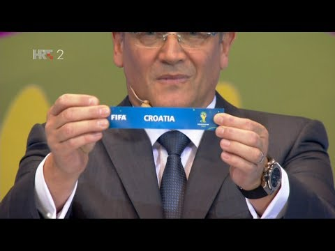 World Cup Brazil 2014 - GROUP A, DRAW - HRT2