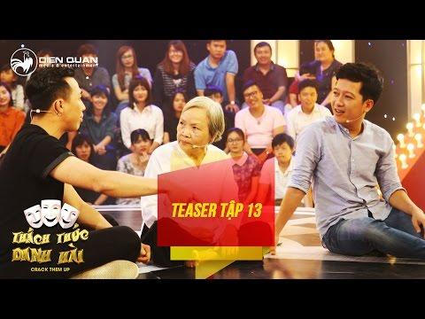 Thách thức danh hài 3 | teaser tập 13: Trấn Thành, Trường Giang lên sân khấu tâm sự cùng thí sinh