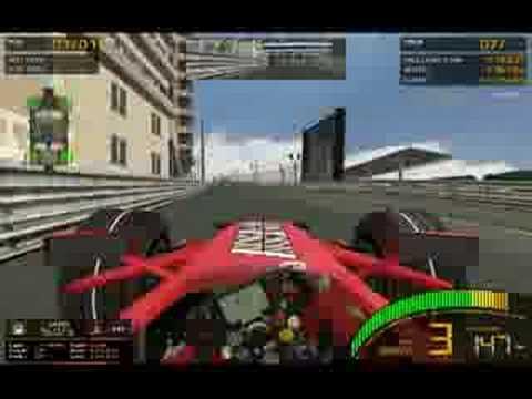 GTR2 mod F1 2008 1.4 Monaco