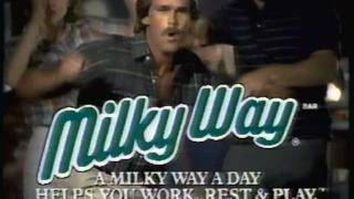 1984 Mars Milky Way Candy Bar Commercial.