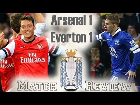 So Frustrating! Arsenal vs Everton 1-1 2013-14 Fan Match Review