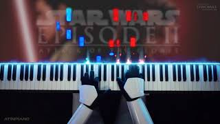 STAR WARS - Across The Stars (Piano Cover) [Intermediate]