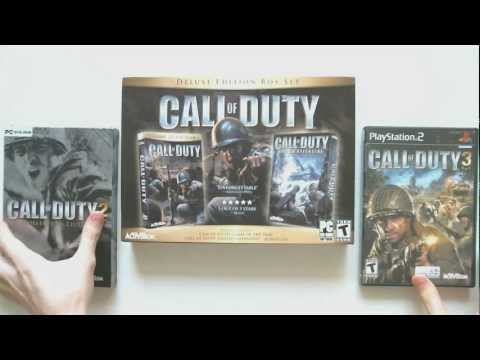 Call of Duty - Видеообзор Западные Коллекционные Издания Call of Duty Распаковка