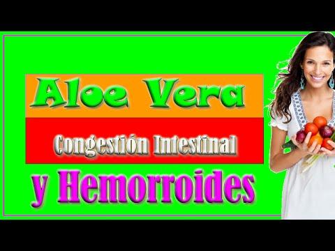 El Aloe Vera Sirve para la Congestion Intestinal y Hemorroides - Remedios Caceros para Hemorroides