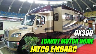 2012 Jayco Embark QX390 MotorHome Exterior and Interior at 2012 Montreal Recreational Vehicle Show