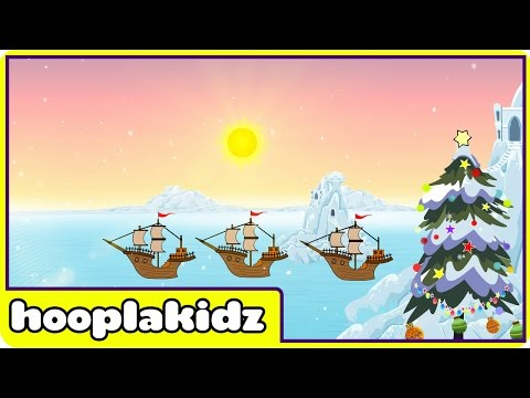 I Saw Three Ships- Christmas Carol for Children