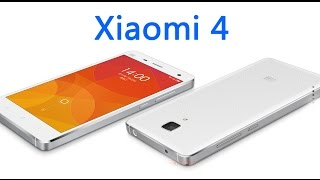 Xiaomi 4/Mi4 First Look! Working Process Of Xiaomi 4