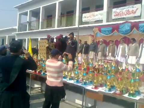 Govt High School Babarra Annual Awards Ceremony 2014 (Qomi Tarana)