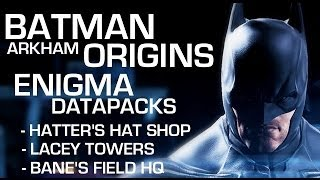 Batman: Arkham Origins Enigma Datapacks Lacey Towers