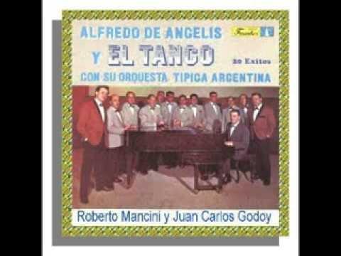 CALVARIO - TANGO - ORQUESTA ALFREDO DE ANGELIS - CANTA ROBERTO MANCINI - 1964