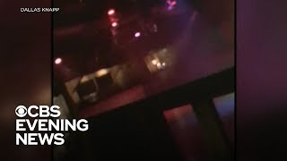 Chilling video shows inside of California bar as shooter opened fire
