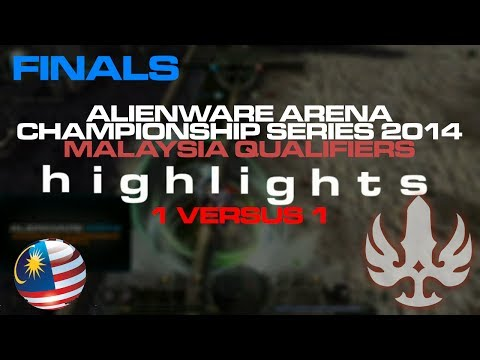 FINALS for 1v1 Malaysia Qualifier  - Alienware Arena Championships Series 2014