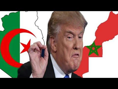 ترامب يخطط لتقسيم المغرب والجزائر