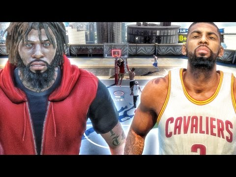 BRIDGES & KYRIE IRVING AT THE PARK! NBA 2k16 My Park Gameplay