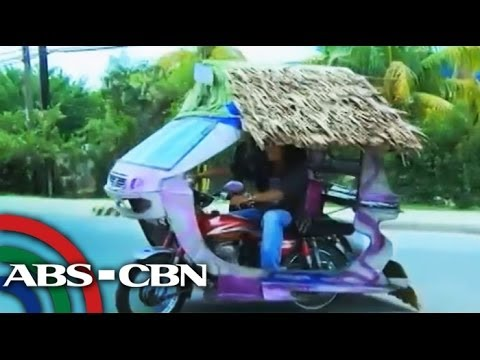 """Insta-house"" tricycle in Palawan"