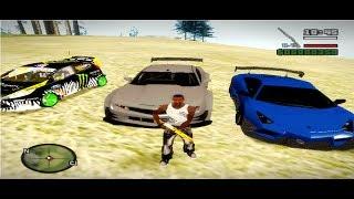 Como Poner Carros Reales En El GTA San Andreas Pc Sin Mod