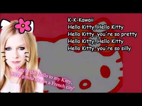 Avril Lavigne - Hello Kitty [Lyrics]