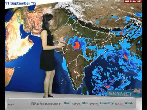 Skymet Weather Report - India September 11, 2012