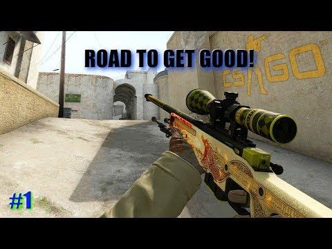 ROAD TO GET GOOD! (CS:GO Gameplay)