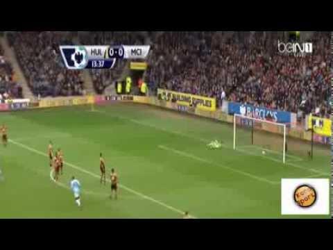 Hull City 0-2 Manchester City [HD] Highlights + Goals | هال سيتي 0-2 مانشستر سيتي - حفيظ الدراجي