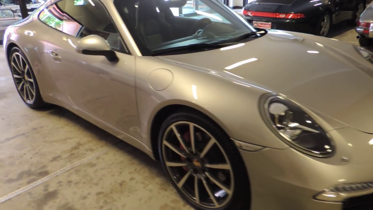 Porsche 911 Carrera S 991 2013 com 4.000 km a venda