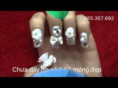 nail móng tay giả cực xinh cho nàng hướng dẫn và feedback