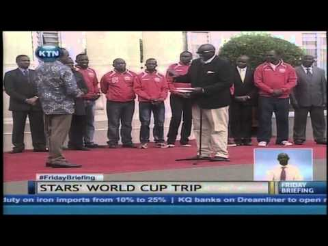 Harambee stars finally got tickets to participate in world cup as spectators