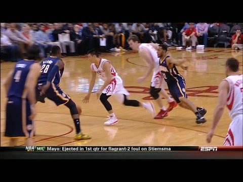 Jeremy Lin vs. Indiana Pacers (3-7-2014)