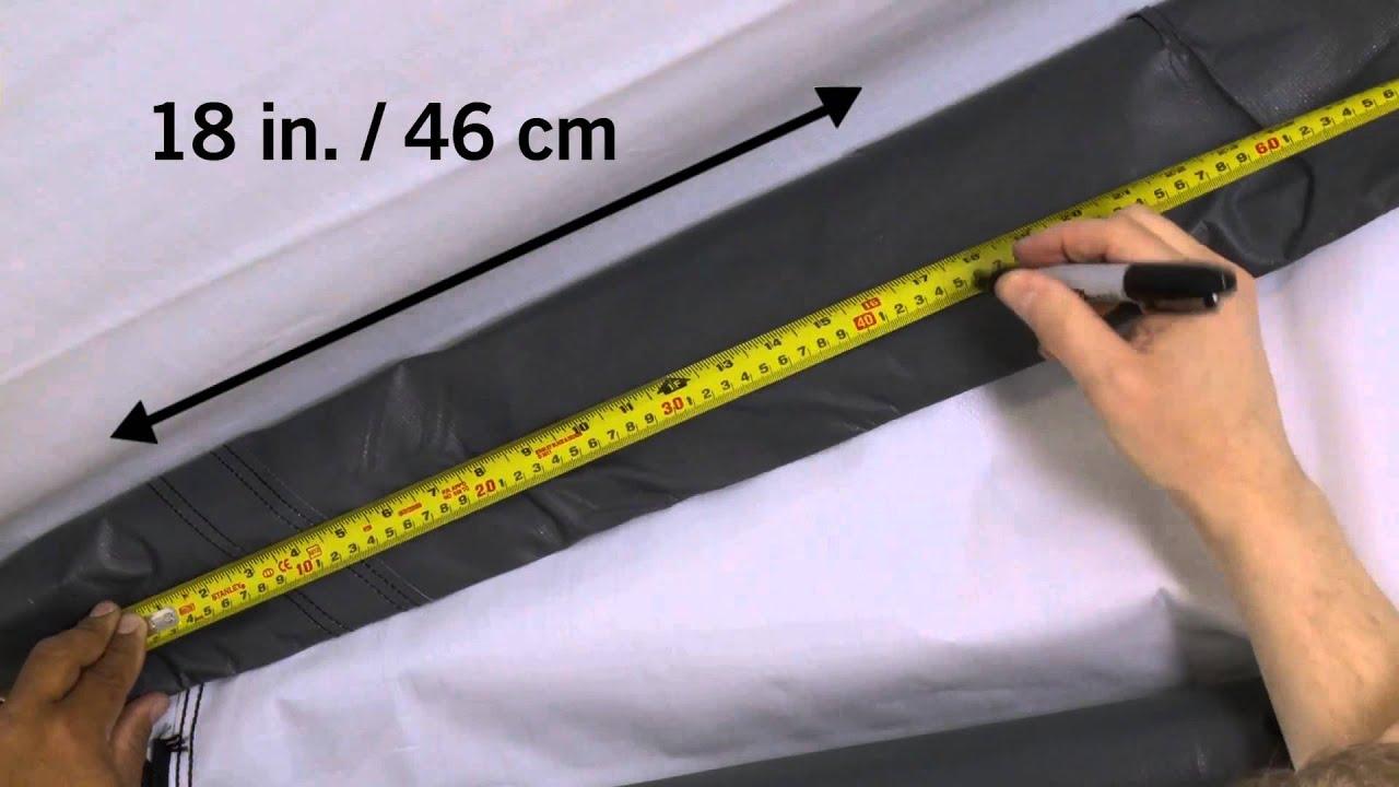 Ecanopy com shelterlogic pull eaze roll up door kit for 12 foot roll up door