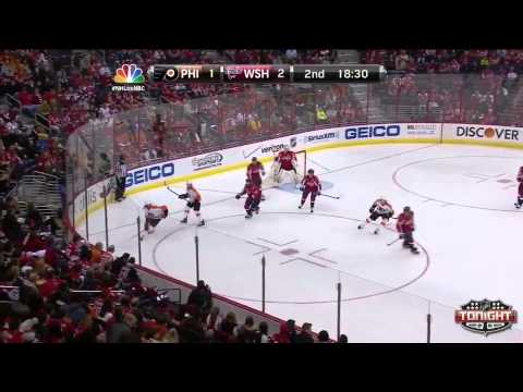 Flyers at Capitals.  Game Highlights   NHL VideoCenter   Philadelphia Flyers