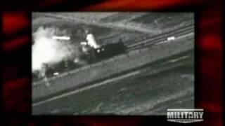 American Warplanes Strafing Enemy Trains During World War