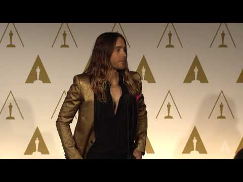 Jared Leto at the 86th Oscars® Nominees Luncheon