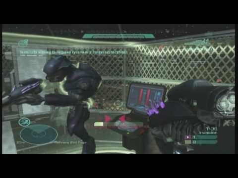 Halo Reach Fun Tactics- Winning as the Covenant in Invasion