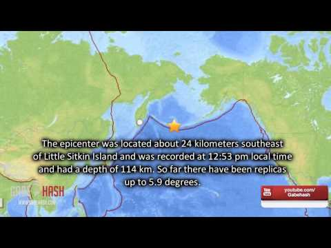 ALASKA EARTHQUAKE MAGNITUDE 8 AND TSUNAMI WARNING TODAY JUNE 23, 2014